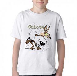 Camiseta Infantil  Coiote ovelha
