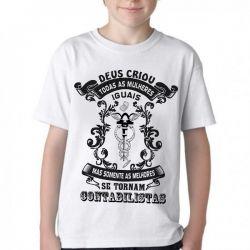 Camiseta Infantil  Contabilista