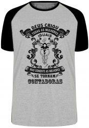 Camiseta Raglan Contadora