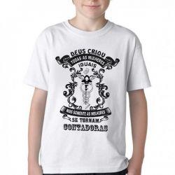 Camiseta Infantil  Contadora