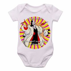 Roupa  Bebê  Cruella Deville 101 dalmatas if she