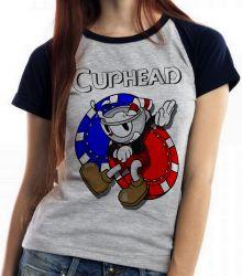 Blusa Feminina Cuphead game