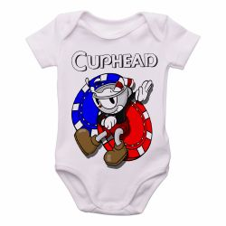Roupa Bebê Cuphead game