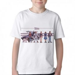 Camiseta Infantil De volta para o futuro