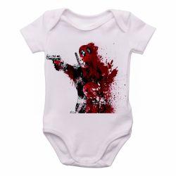 Roupa  Bebê Deadpool arma