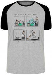 Camiseta Raglan Desfibrilador