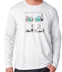 Camiseta Manga Longa Desfibrilador