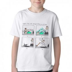 Camiseta Infantil Desfibrilador