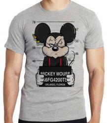 Camiseta Mickey prisão