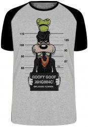 Camiseta Raglan Pateta prisão