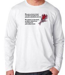 Camiseta Manga Longa Doação de Órgãos