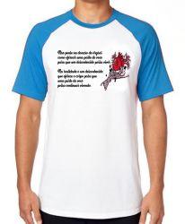Camiseta Raglan Doação de Órgãos
