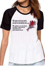 Blusa Feminina Doação de Órgãos