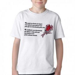 Camiseta Infantil Doação de Órgãos