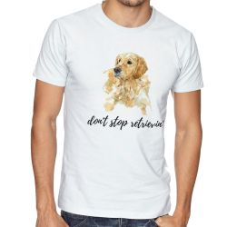 Camiseta Don't stop retrievin'