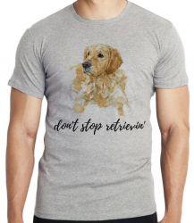 Camiseta Infantil Don't stop retrievin'