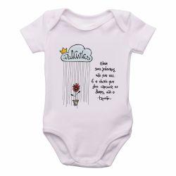 Roupa  Bebê Eleve suas palavras não sua voz