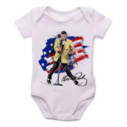 Roupa  Bebê  Elvis Presley bandeira EUA