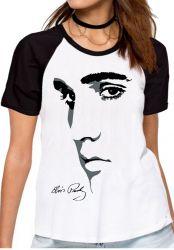 Blusa Feminina  Elvis Presley Rei do Rock