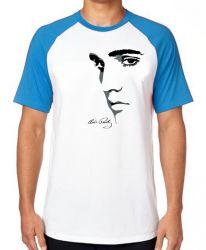 Camiseta Raglan Elvis Presley Rei do Rock