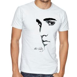 Camiseta Elvis Presley Rei do Rock