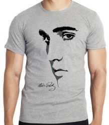 Camiseta Infantil Elvis Presley Rei do Rock