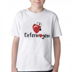 Camiseta Infantil Enfermagem  love esteto