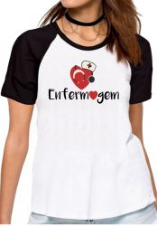 Blusa Feminina Enfermagem love esteto