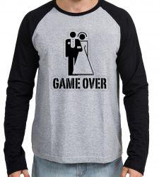 Camiseta Manga Longa Game Over