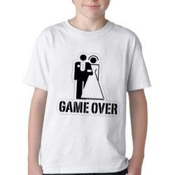 Camiseta Infantil Game Over