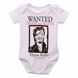 Roupa  Bebê  Flynn Rider Enrolados