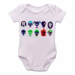 Bebê  Esquadrão Suicida faces