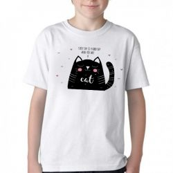 Camiseta Infantil Every day is a good day when you have a cat