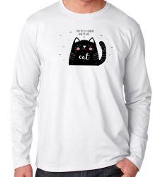 Camiseta Manga Longa Every day is a good day when you have a cat