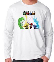 Camiseta Manga Longa Castle Crashers