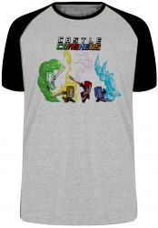 Camiseta Raglan Castle Crashers