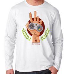 Camiseta Manga Longa Easter Egg