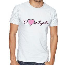 Camiseta Eu amo ser Espírita