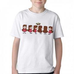 Camiseta Infantil  Gravity Falls Mabel cópias