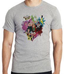 Camiseta  Gravity Falls  personagens