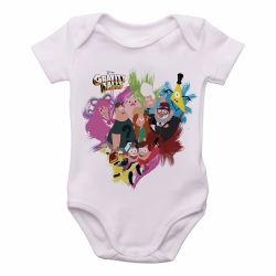 Roupa  Bebê   Gravity Falls  personagens