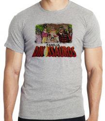 Camiseta Família Dinossauro