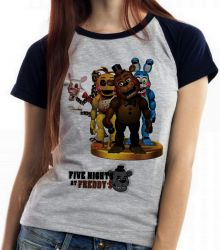 Blusa Feminina  Five Nights at Freddy