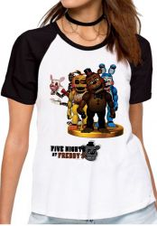 Blusa Feminina  Five Nights at Freddy's  group