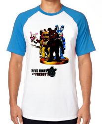 Camiseta Raglan Five Nights at Freddy's group