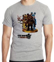 Camiseta Infantil  Five Nights at Freddy's group
