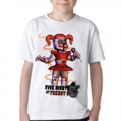 Camiseta Infantil  Five Nights at Freddy