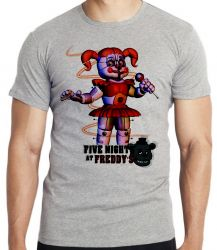Camiseta Infantil  Five Nights at Freddy's Circusbaby