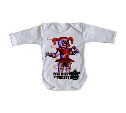 Roupa Bebê manga longa Five Nights at Freddy