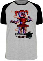 Camiseta Raglan Five Nights at Freddy